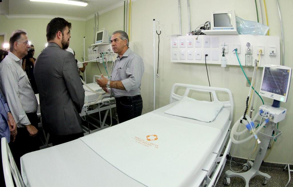 Governo anuncia entrega de 60 leitos de UTI para reestruturação na saúde em MS