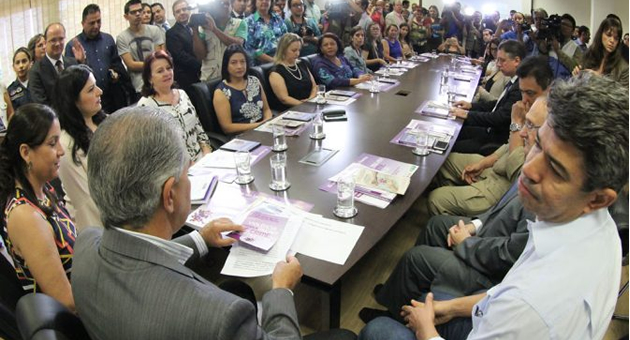 Governo lança Agosto Lilás e ações inéditas vão contemplar mulheres com deficiência e indígenas