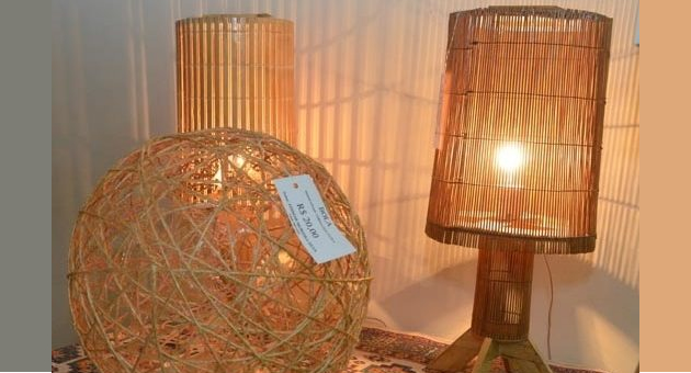 Artesanatos produzidos por detentos estão expostos no Fórum de Aquidauana