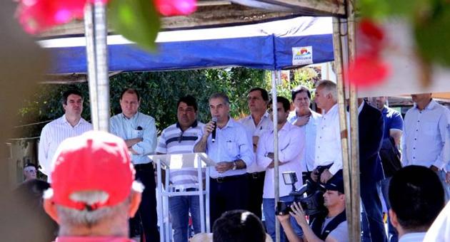 Reinaldo destina R$ 9 mi para Três Lagoas e Brasilândia e reforça parceria com a Costa Leste