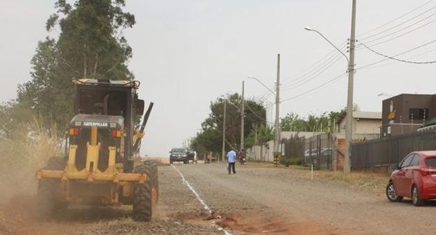 Emblemática, pavimentação transformará Polo Industrial no primeiro 100% asfaltado em MS