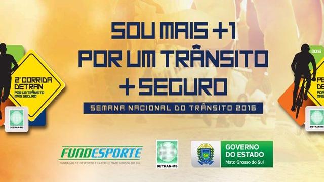 Detran abre inscrições para eventos esportivos da Semana Nacional de Trânsito