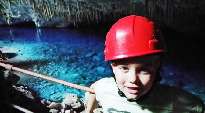 Youtuber de 9 anos faz série sobre passeios em Bonito e Jardim