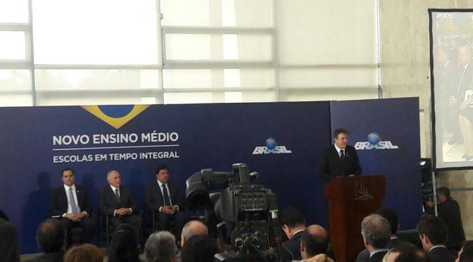Em Brasília, Secretária de Educação acompanha o anúncio do Novo Ensino Médio