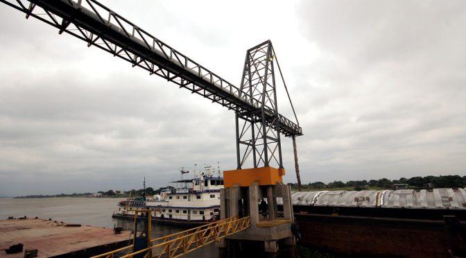 Terminal de Porto Murtinho é entreposto de cargas para a Argentina e Bolívia