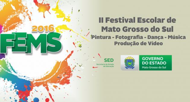 Festival apresenta trabalhos artísticos de alunos da Rede Estadual de Ensino