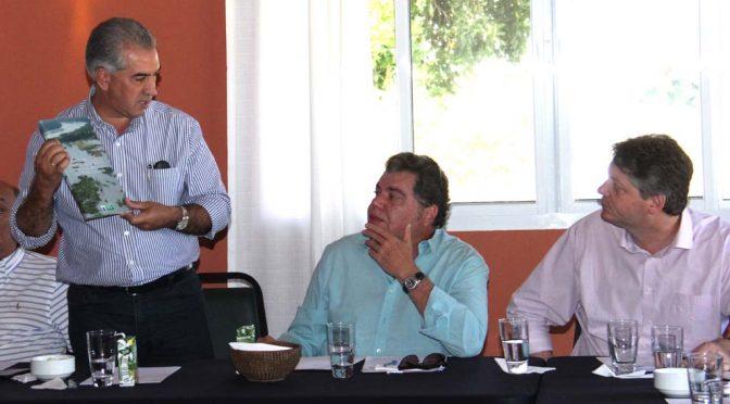 Governador apresenta plano de recuperação do Taquari e tem apoio do ministro Sarney Filho
