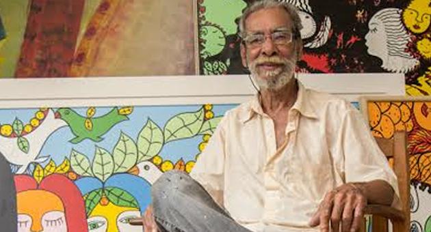 Artista plástico Ilton Silva vai pintar ao vivo no Porto Geral durante o 13º Fasp