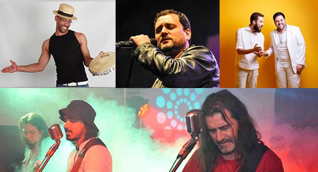 Na última semana de outubro, samba, rock e música regional