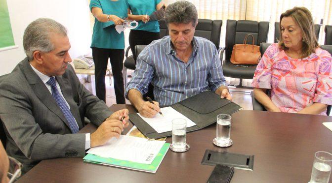 Governo firma parceria com Dourados para realizar maior evento de Natal de MS