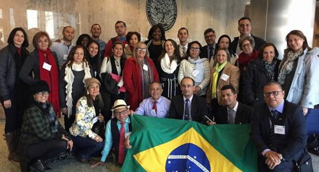 Em intercâmbio, grupo brasileiro conhece estrutura da educação americana