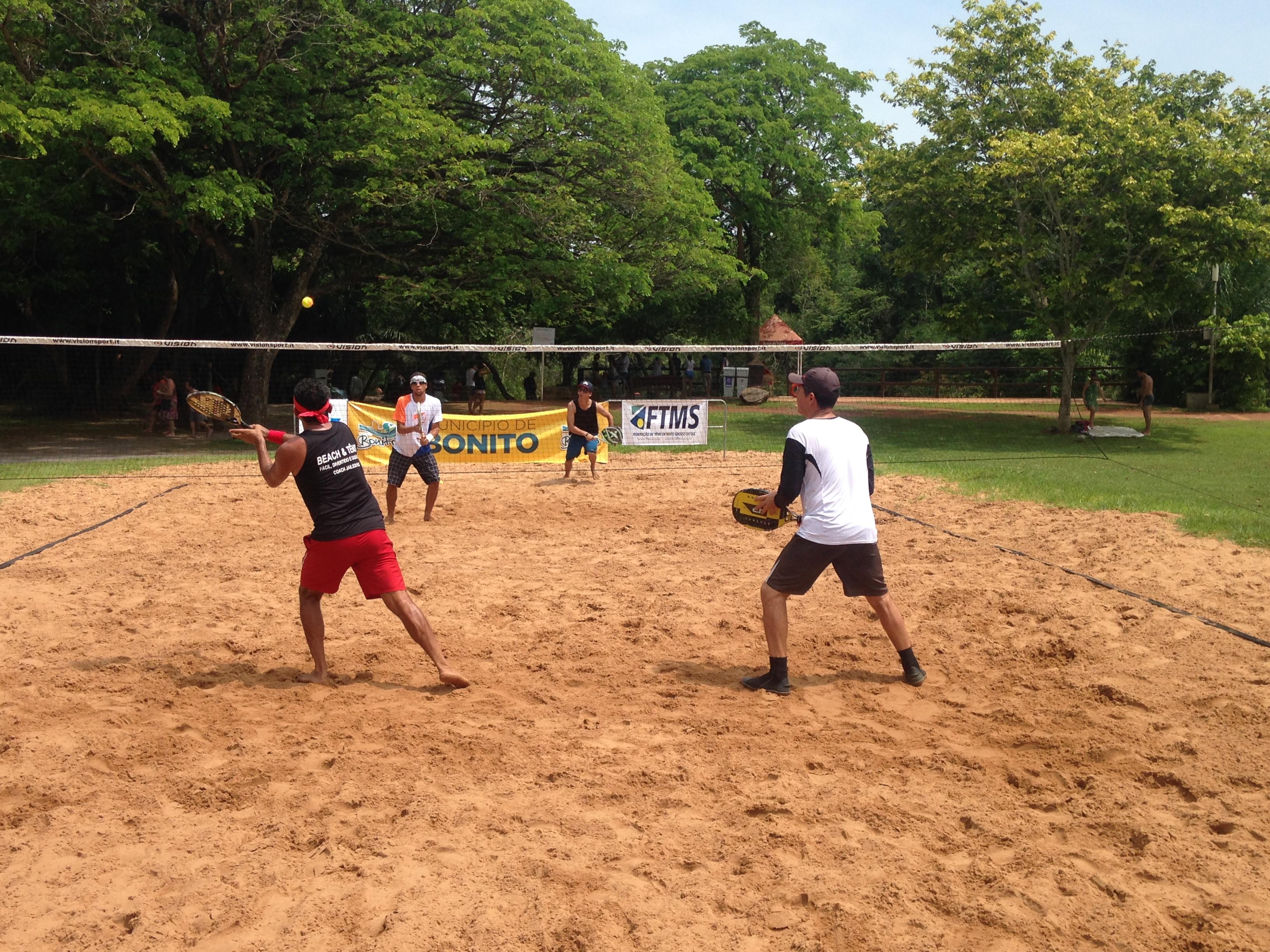 Bonito recebe final do Circuito Sul-mato-grossense de Beach Tennis