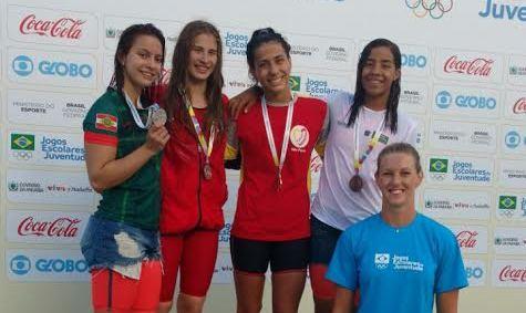 Jogos Escolares: natação também garante medalha a Mato Grosso do Sul