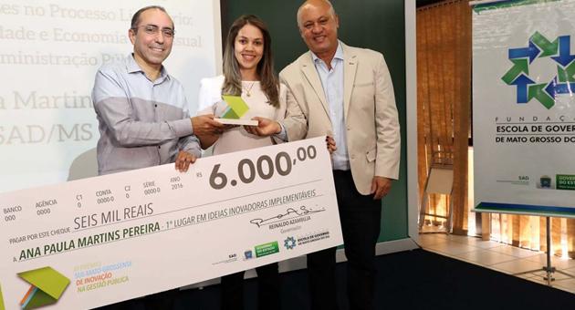 Governo reconhece boas práticas de servidores e distribui R$ 24 mil em prêmios