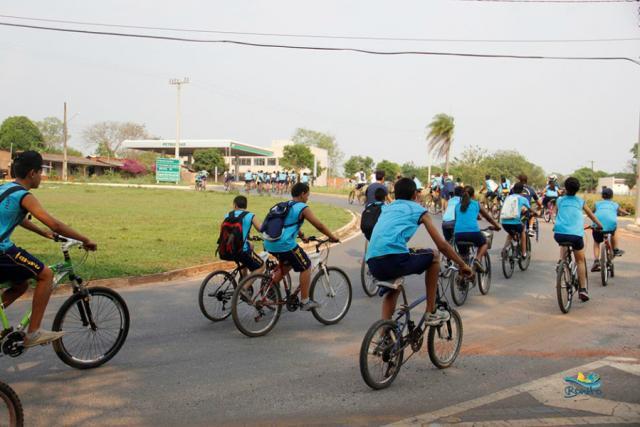 Depois de mudança de sentido em ruas, prefeitura de Bonito começa campanha para ciclistas