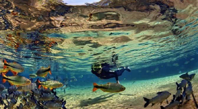 Bonito é um dos lugares mais populares no Instagram do Ministério do Turismo