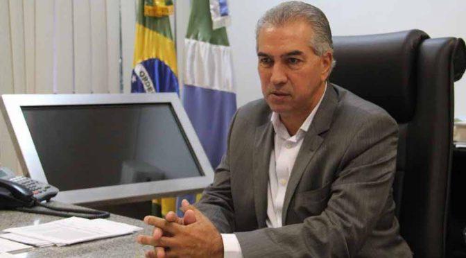 Governador sanciona lei que autoriza renegociação da dívida de MS com a União