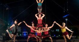 Cia Irmãos Sabatino traz a magia do circo e acrobacias aéreas para o 18º FIB