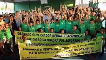 Moradores de Aparecida do Taboado aprovam pacote de R$ 2,7 milhões em obras entregues no município