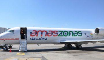 Voo da Amaszonas vai conectar Mato Grosso do Sul a nove países a partir de dezembro