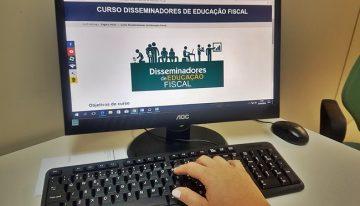 Curso de formação para Disseminadores da Educação Fiscal está com inscrições abertas