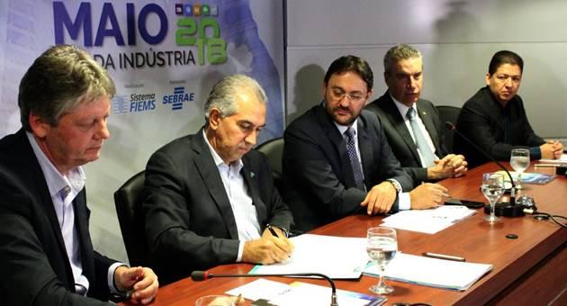 Convalidação foi referendada pelo governador Reinaldo Azambuja. (Foto: Semagro/Divulgação)