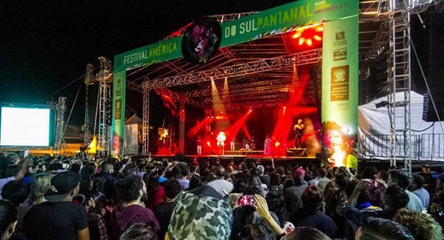 Primeira noite de shows do Fasp ocorreu nesta quinta-feira. (Foto: Clóvis Neto/PMC/Divulgação)