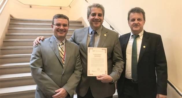 Mato Grosso do Sul esteve representado em reunião da OIE que deu ao Brasil status de área livre de febre aftosa com vacinação. (Foto: Semagro/Divulgação)