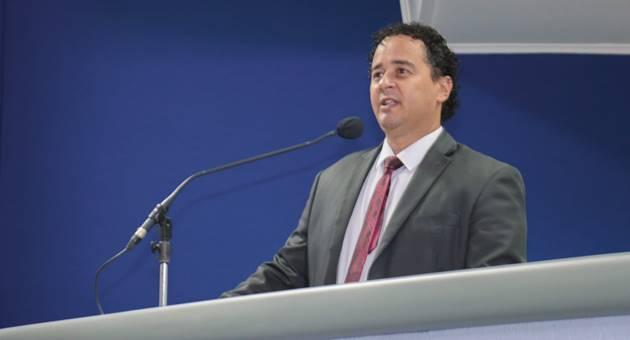 Vereador Delegado Wellington falará sobre os trabalhos da Câmara ao Bom dia Campo Grande. (Foto: Izaías Medeiros/CMCG)