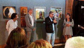 Bosco Martins disse ser uma honra para a Fertel sediar homenagens à Lídia Baís, à Morada dos Baís e à Confraria Socioartista. (Fotos: Maurício Borges)