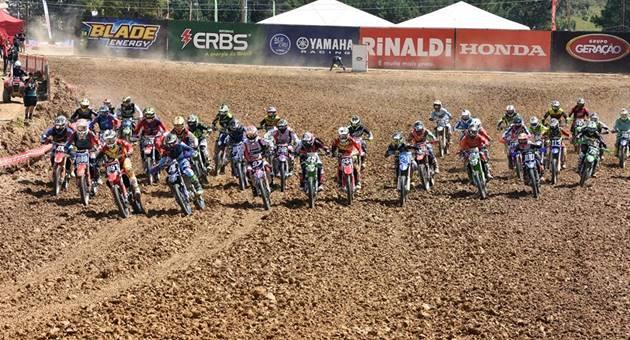 Nova Alvorada do Sul receberá neste fim de semana etapas do Brasileiro e do Estadual de Motocross. (Foto: CBM/Divulgação)