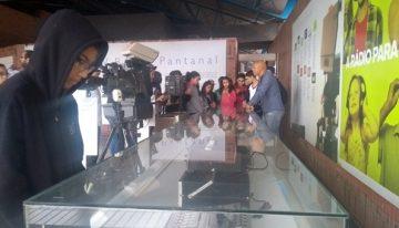 Na Fertel, estudantes da Capital conhecem a história e a rotina da FM 104,7 e da TVE Cultura