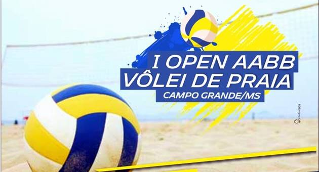 I Open AABB de Vôlei de Praia terá transmissão pela TVE Cultura; entrada é gratuita. (Imagem: Divulgação)