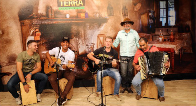 Toque Baileiro foi ao Show da Terra divulgar músicas do novo CD. (Foto: Daniela Lima)