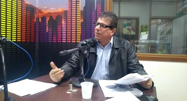 Secretário de Cultura destacou importância da TVE Cultura na comunicação de MS. (Foto: Humberto Marques)