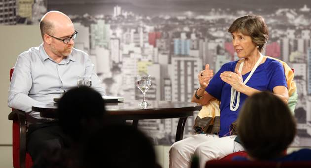 Café Filosófico com Vladimir Safatle e Maria Rita Kehl vai ao ar na segunda-feira, às 22h45, na TVE Cultura. (Foto: Tatiana Ferro Fotografia/Divulgação)