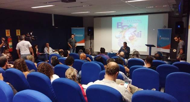 Apresentação de atrações do festival foi realizada nesta sexta-feira em Campo Grande. (Foto: Divulgação)