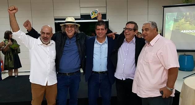 Representantes do poder público, iniciativa privada e Fertel participaram do lançamento. (Foto: Arquivo pessoal)