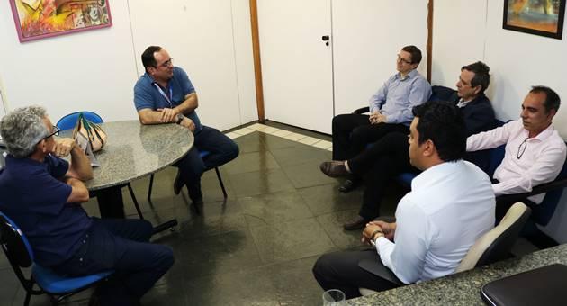 Reunião definiu chegada de novos transmissores para a TVE Cultura. (Foto: Daniela Lima)