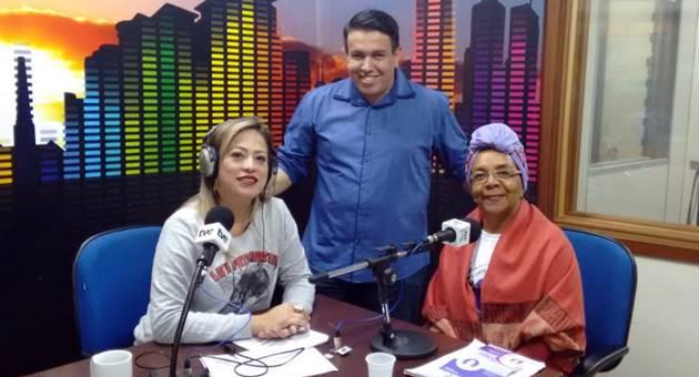 Ana José Alves concedeu entrevista a Diana Gaúna e Anderson Barão no Bom Dia Campo Grande desta quinta-feira (9). (Foto: Julia Torrecilha)
