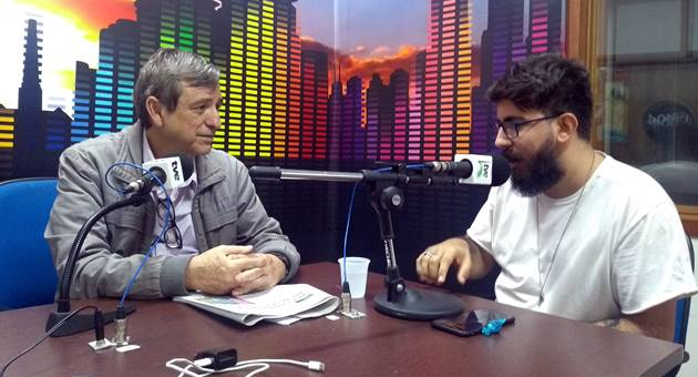 José Luiz Soares falou ao Bom Dia Campo Grande sobre as funcionalidades do app FullQuick, que chega à Capital. (Foto: Humberto Marques)