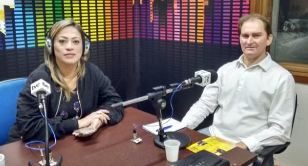 Neuropsicólogo Roberto Patslaff falou sobre neurolinguística em entrevista ao Bom Dia Campo Grande. (Foto: Julia Torrecilha)