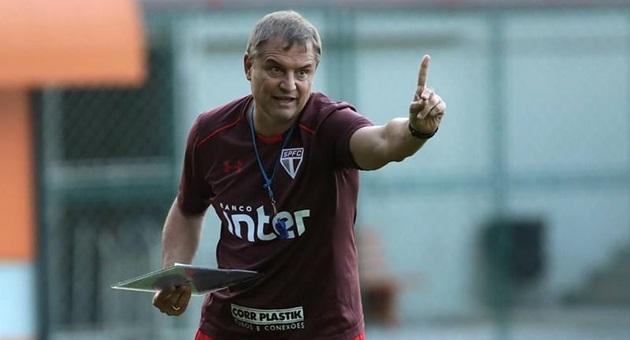 Diego Aguirre foi jogador do São Paulo e, como treinador, é o atual líder do Brasileirão. (Foto: Divulgação)