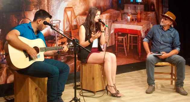 Monisa Vilela apresenta seu som aos sul-mato-grossenses no Show da Terra deste domingo (26). (Foto: TVE Cultura/Divulgação)