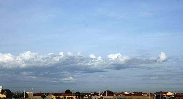 Céu deve permanecer parcialmente nublado em MS no primeiro dia de agosto. (Foto: Edemir Rodrigues/Subcom)