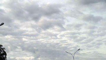 Quinta-feira com céu nublado em Mato Grosso do Sul