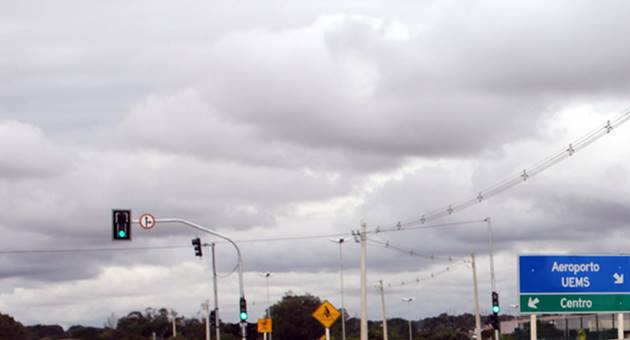 Tempo segue fechado na maior parte do Estado, com pancadas de chuva ao longo da segunda-feira. (Foto: Chico Ribeiro/Subcom)