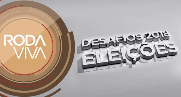 Roda Viva fará análise do cenário eleitoral brasileiro com time de especialistas. (Imagem: TV Cultura/Divulgação)