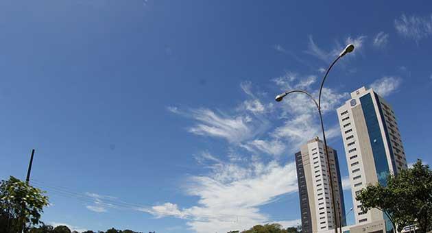 6ea0c3238 Quarta-feira terá aumento nas temperaturas e baixa umidade do ar em ...