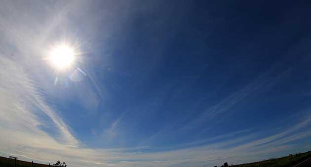 Dia terá céu claro e baixa umidade em grande parte de MS; Estado deve ter chuva na região Sul na quinta-feira, segundo o Cemtec. (Foto: Subcom/Arquivo)